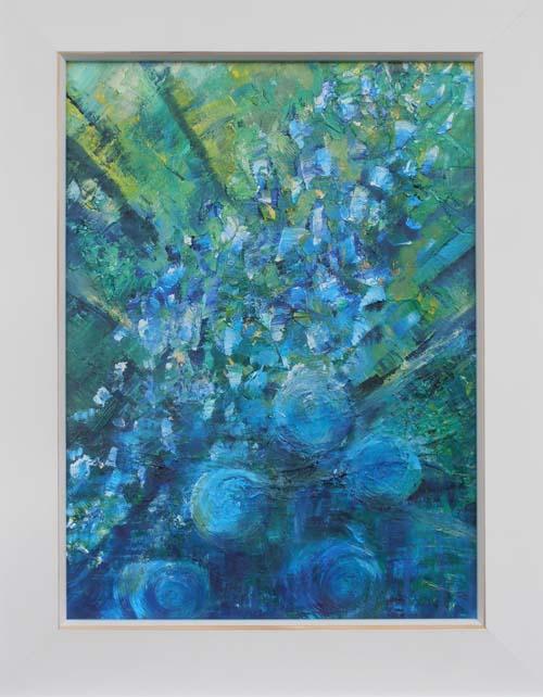 Blue Garden by Janet Glazier