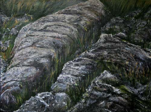 Heugh scar hill by Take 13 artist Janet Glazier