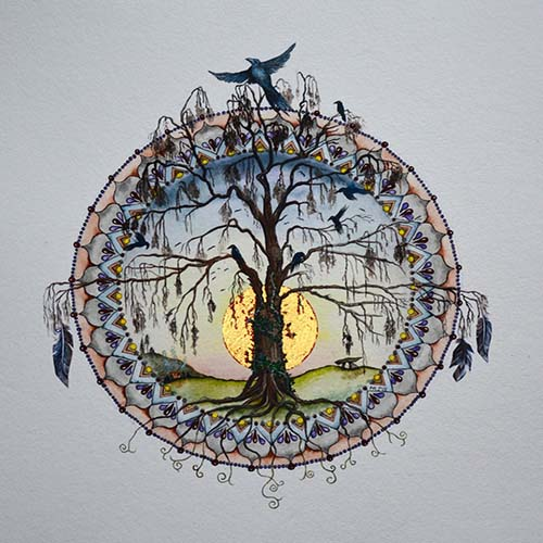 Tree of Life for November by Marie Roberts