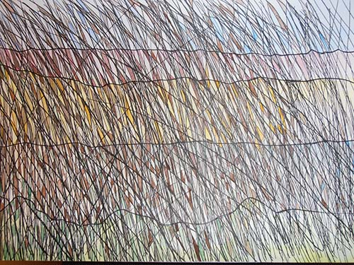 Reeds on Canal by Janet Glazier