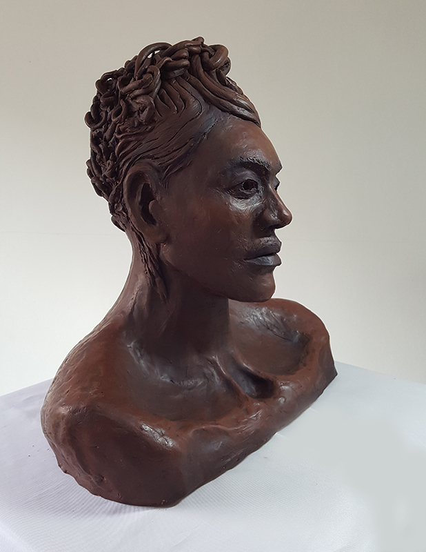 Clay Sculpture by Take 13 artist Georgia Belfont